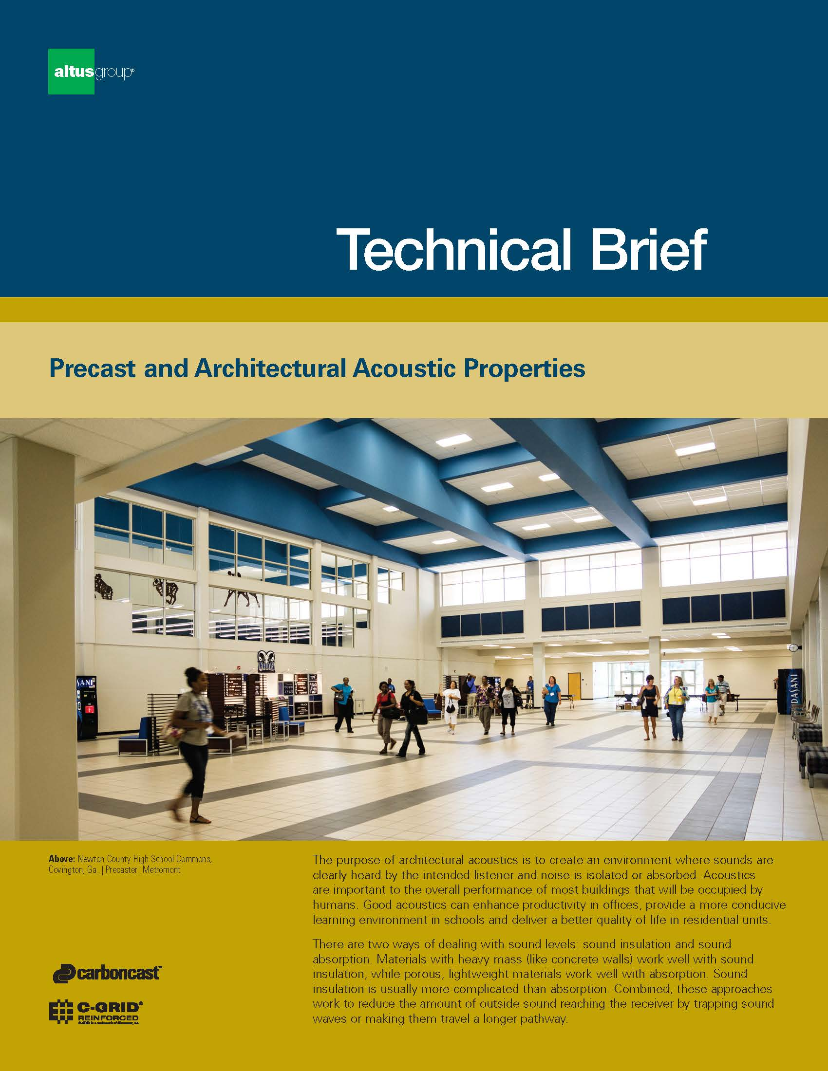 New AltusGroup tech brief outlines architectural acoustic properties ...