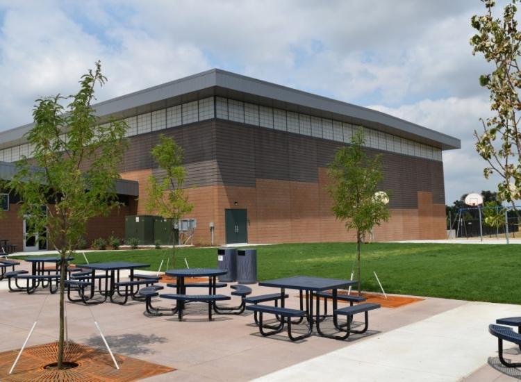 CarbonCast Wall Panels Peak to Peak Charter School