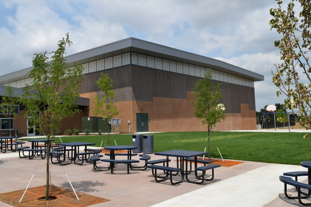 CarbonCast Wall Panels Peak to Peak Charter School