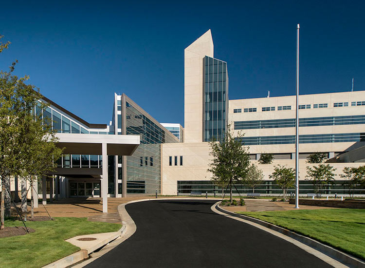 Martin Army Hospital government, carboncast architectural precast on exterior