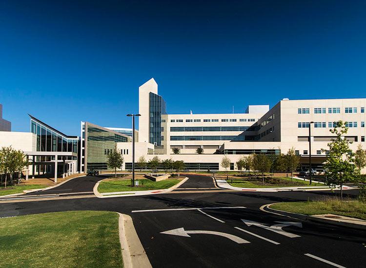 Martin Army Hospital government, precast wall system on exterior