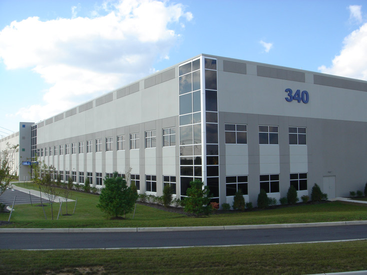Middlesex Industrial Warehouse, precast panel on exterior