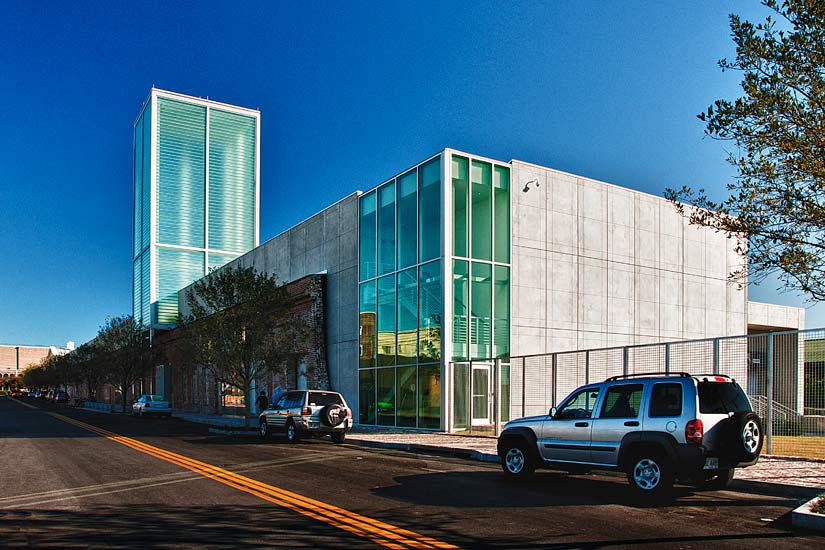 SCAD Museum entertainment education, high performance insulated wall panel on exterior