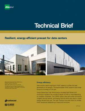 cover image of Technical Brief for AG data centers