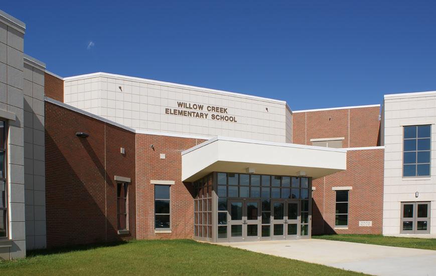 Willow Creek Elementary School Altus Precast