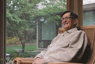 portrait of the late Mario J. Bertolini, former CEO of  Blakeslee Prestress