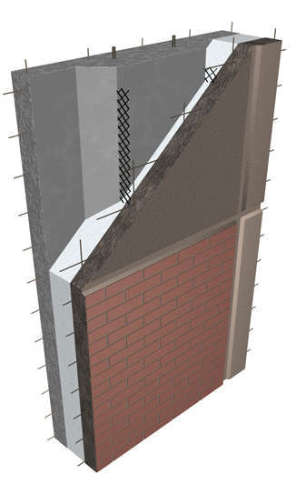 Altusgroup Carboncast High Performance Insulated Wall