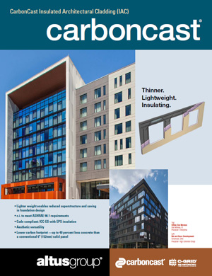 cover of insulated architectural cladding brochure