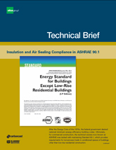 CarbonCast Insulation and Air Sealing Compliance in ASHRAE 90.1 cover