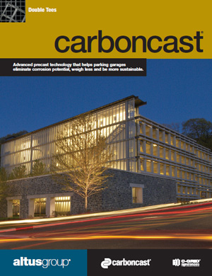 cover of CarbonCast Double Tees brochure
