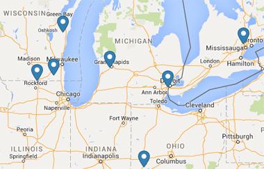 find a precaster map