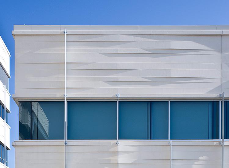 Marshfield Hospital exterior detail