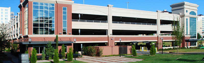 St. John's parking structure built using CarbonCast Double Tees